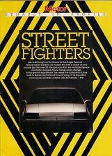 Renault Motor Supplement 1984-85 UK Market Sales Brochure 5 Turbo 2 GTA 4CV 25