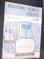 BOLLETTINO TECNICO GELOSO_Autunno 1959_ n.76_DEDICATO AI TELEVISORI