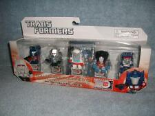 Transformers Figurines x5 with 3D Puzzle Piece 30 Years Generation 1 Optimus New