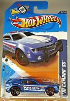 2012 Hot Wheels KMart Excl #131 HW City Works-Police '10 CAMARO SS Blue Variant