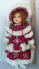 American Classics Collection Faith 19 Inch Doll Christmas Musical Porcelain