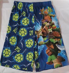 Nickelodeon Teenage Ninja Turtles Boys 10-12 Bermuda Sleep Shorts New w/ tags
