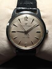 Girard Perregaux Vintage Sea Hawk Manual Wind Wristwatch 17 Jewels