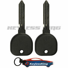 2 Replacement Remote Fob Car Key for 2000 2001 2002 2003 2004 2005 Buick LeSabre