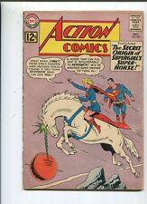 Action Comics #293 Very Good 1962  Orgin Of Comet   *SA
