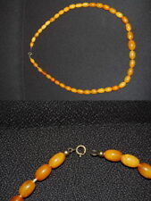 Necklace REAL honig-bernstein, Length 61cm, 32G Very Good Condition