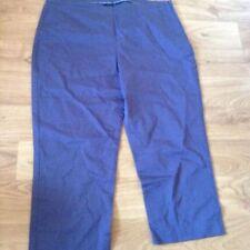 Boden Cotton Blend Mid Rise Plus Size Trousers for Women