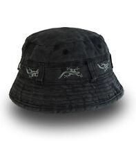 Black Salamander Charcoal Bucket Hat - BH4 - New