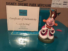 "WDCC Alice in Wonderland -  King of Hearts ""...And The King"" New"