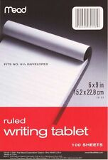 Mead Writing Tablet, 6