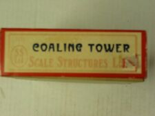 Scale Structures Ltd - Coal Tower - Kit#1123 - HO Scale