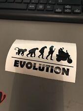 Monkeybike Z50 Minibike Evolution Sticker