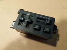 JEEP GRAND CHEROKEE ZJ - HEATED SEAT SWITCH PACK REAR WIPER BUTTONS CONTROLS