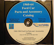 1960-64 Ford Car Parts and Accessories Catalog