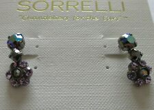 Sorrelli Chantilly Lace Earrings EBE2ASCL antique silver tone MSRP $50