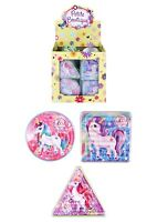 UNICORN PUZZLE MAZE 3 ASSTD SHAPES CHILDREN'S PARTY BAG FILLERS TOYS GIRLS PARTY
