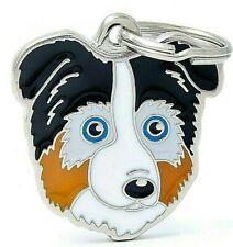 Australian Shepherd Dog ID Tag (75)  - Engraved FREE - Personalised - Charm