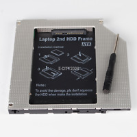 PATA IDE to 2nd SATA HD Hard Drive Caddy for MacBook Pro A1181 A1260 A1150 A1211