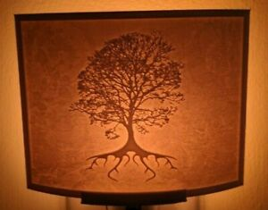 Tree of Life Lithophane Incandescent Night Light