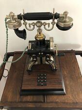 Téléphone ancien de collection Ericsson Stockholm Reconditionné En 1976