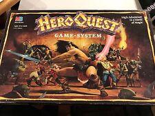Hero Quest Game System Milton Bradley High Adventure World Magic 1990 VTG Board