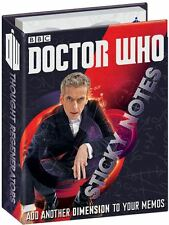 Dr WHO Sticky Notes GIFT SET post its the Doctor peter capaldi