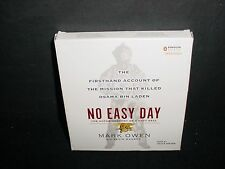 No Easy Day The Mission That Killed Osama Bin Laden Mark Owen CD Audiobook