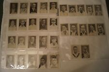 Vintage - 1930's - Sweetacres - Test Match Records-Cricket Cards - Complete Set