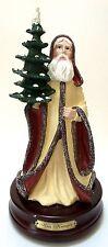 Duncan Royale Santa Claus Kris Kringle Music Box Large Figurine Musical Xmas