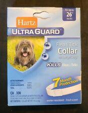 "New listing Hartz Ultraguard Flea And Tick Large Dog Collar 26"" - White (Aa2-3)"