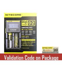 NEW NITECORE D2 Digicharger Charger for Li-ion Ni-MH 18650 14500 18350 16340 AA