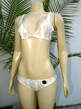 Paula Thomas for Thomas Wylde-Lite Tan-2 pice set Swimsuit Sz:S