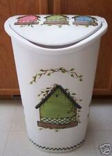 HP BIRDHOUSE TRASH CAN/KITCHEN/MUST SEE/NEW BY MB