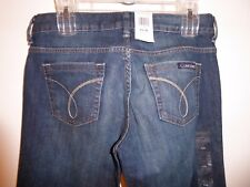 LADIES CALVIN KLEIN JEANS ~ SIZE 4  X 32 ~ NWT~ ULTIMATE BOOT