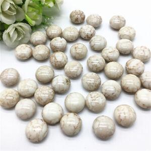 50 x Perlen Acryl Weiß Spacer Zierperlen Zwischenperle DIY 17x10mm groß Aktion
