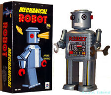 R-35 Mechanical Robot Tin Toy Windup Masudaya Style
