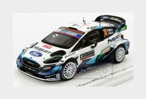 Ford Fiesta Wrc #4 Rally Montecarlo 2020 E.Lappi J.Ferm SPARK 1:43 S6553 Modellb