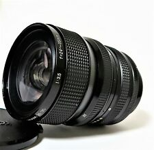 Rare Komura Komuranon Zoom 24-35mm  f/3.5 Lens for Canon FD Mount Excellent-
