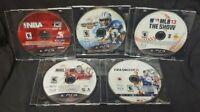 MLB NBA NHL Hockey NFL Madden FIFA Soccer Sony PlayStation 3 PS3 Game Lot Works