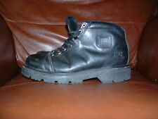 Caterpillar Nero Stivali Taglia 9 Stile Militare Mountain Boots UK 9.