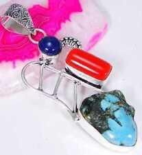 Designer Turquoise Costume Necklaces & Pendants