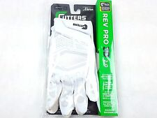Cutters S541 Rev Pro 3D 2.0 White Adult L Football Gloves