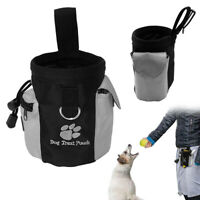 Pets Dog Treat Bag Poo Bags Holder Dispenser Pouch Belt Puppy Obedience Training