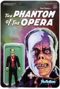 Universal Monsters Wave 2 Phantom of The Opera Figure ReAction Super 7