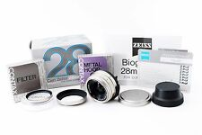 (#3373) Near Mint! Contax Carl Zeiss Biogon T* 28mm f/2.8 Lens For G1 G2 w/ Box