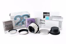 (#3373) Near Mint! Contax Carl Zeiss Biogon T* 28mm f/2.8 Lens For G1 G2 w/ Box