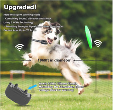 Wireless Dog Fence Electric & Training Collar 2-in-1