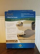 Petsafe Automatic Pet Feeder Programmable 5 Meal Dog Cat Food Dispenser NEW