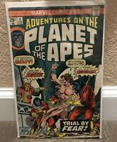 Marvel Comics Group Adventures On The Planet Of The Apes Trial By Fear 83'1!