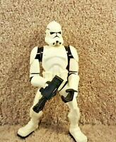 "2005 Hasbro Star Wars Force Battlers Clone Trooper Action Figure Loose 7"""